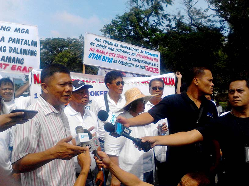 Truckers, importers, exporters declare a holiday protest vs  port