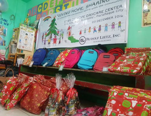 Rudolf Lietz, Inc. holds a Christmas Party for Preschool Students